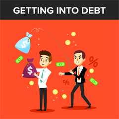 Getting Into Debt