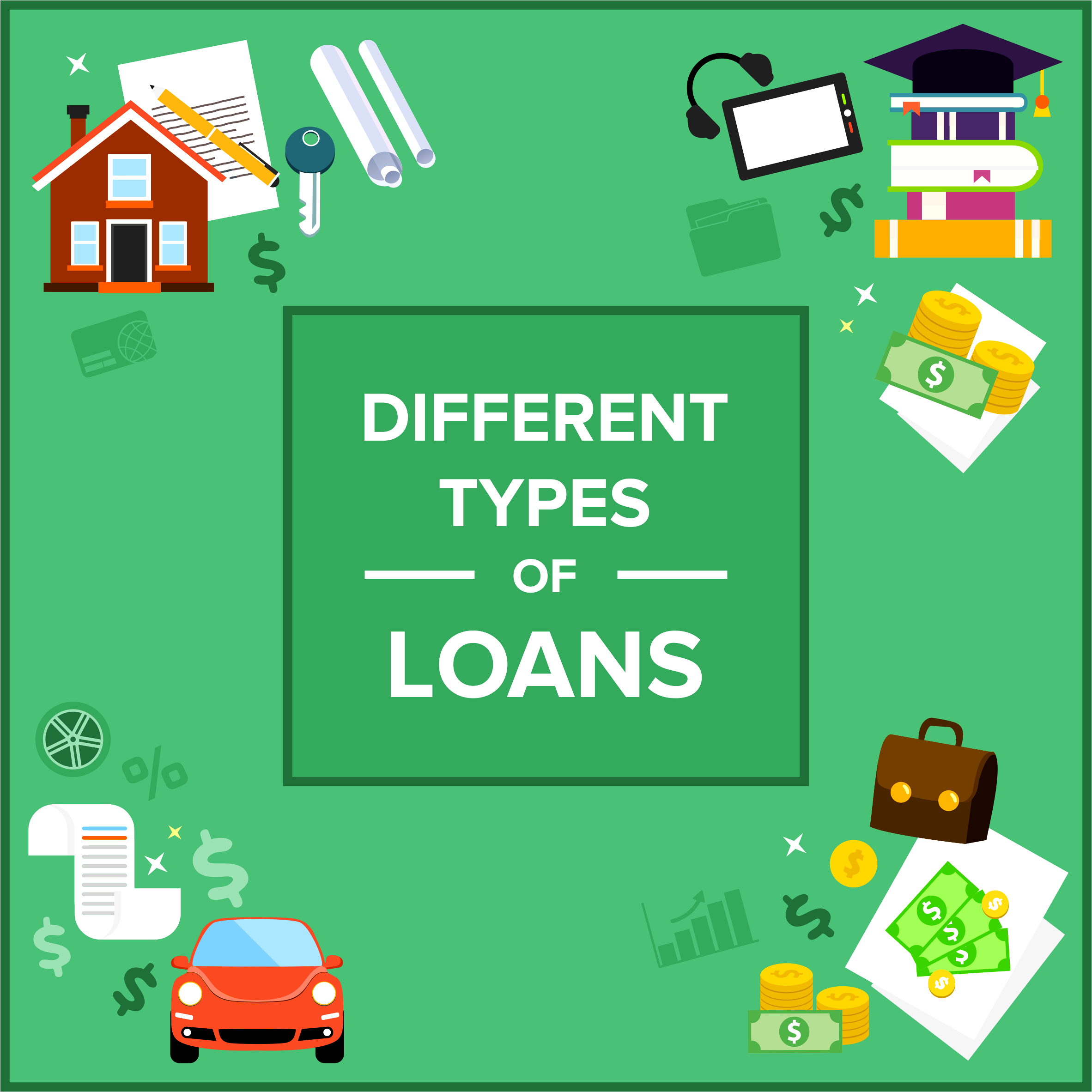 Different Types of Loans in Canada
