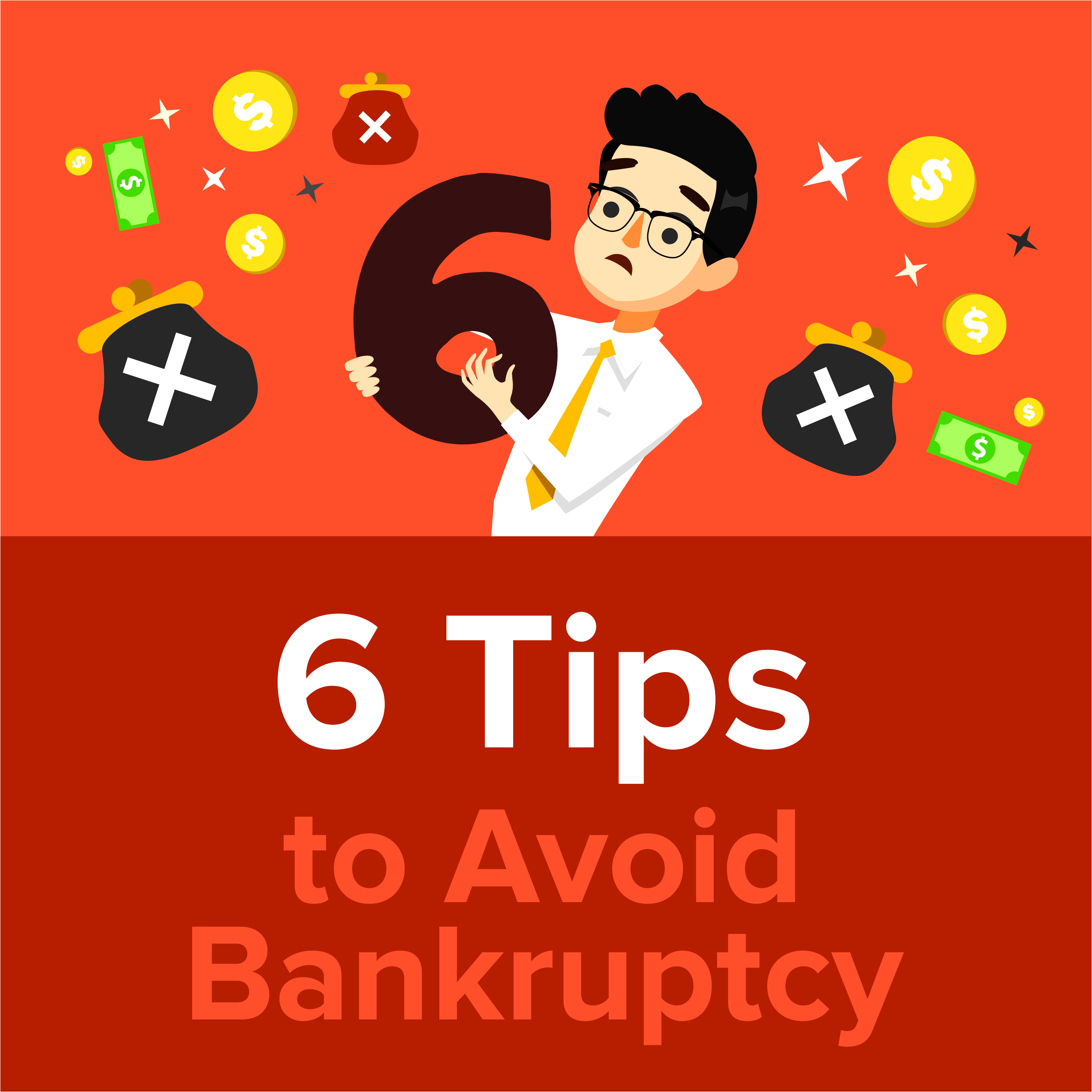 6 Tips to Avoid Bankruptcy