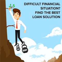 Difficult Financial Situation? Find The Best Loan Solution