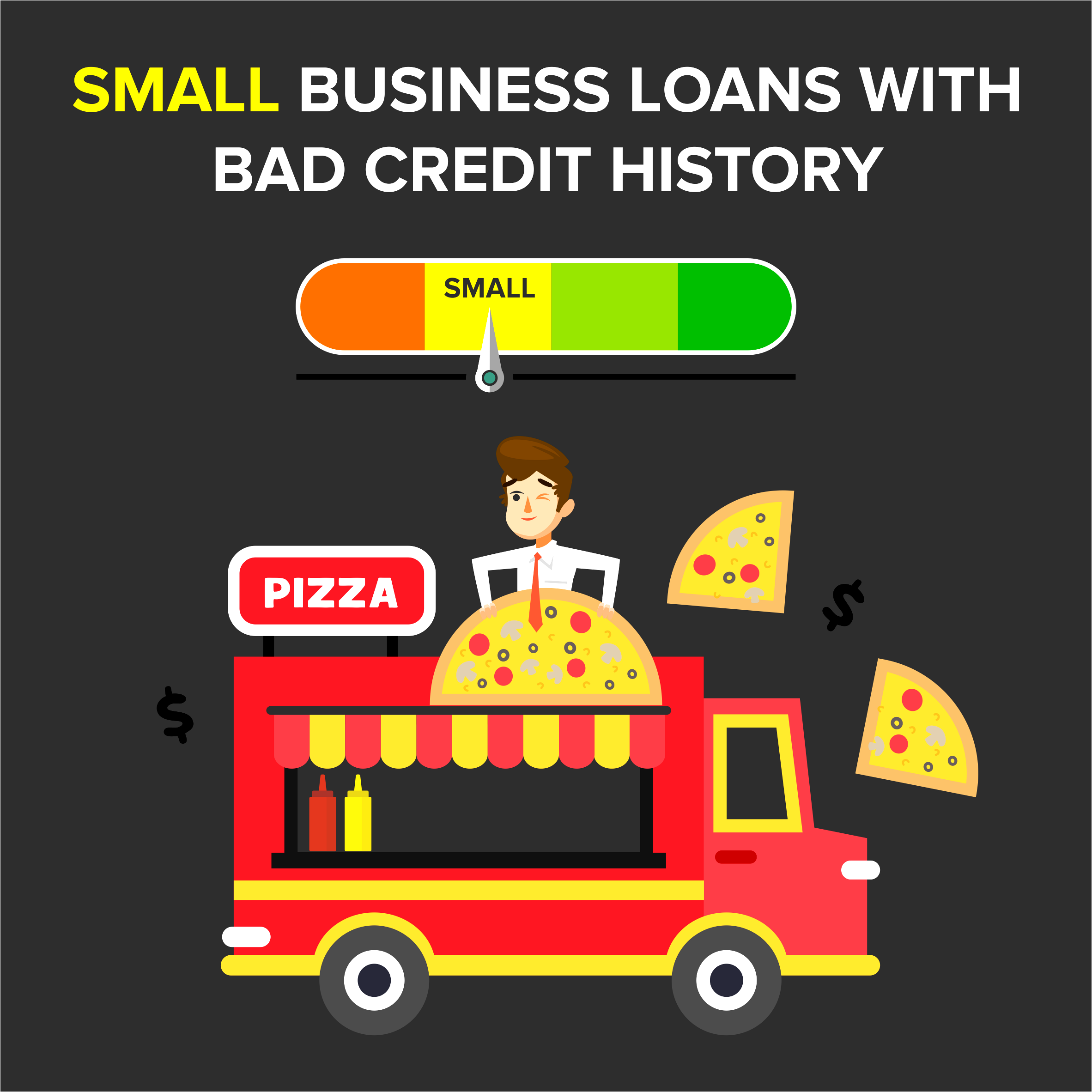 Small Business Loans With Bad Credit History