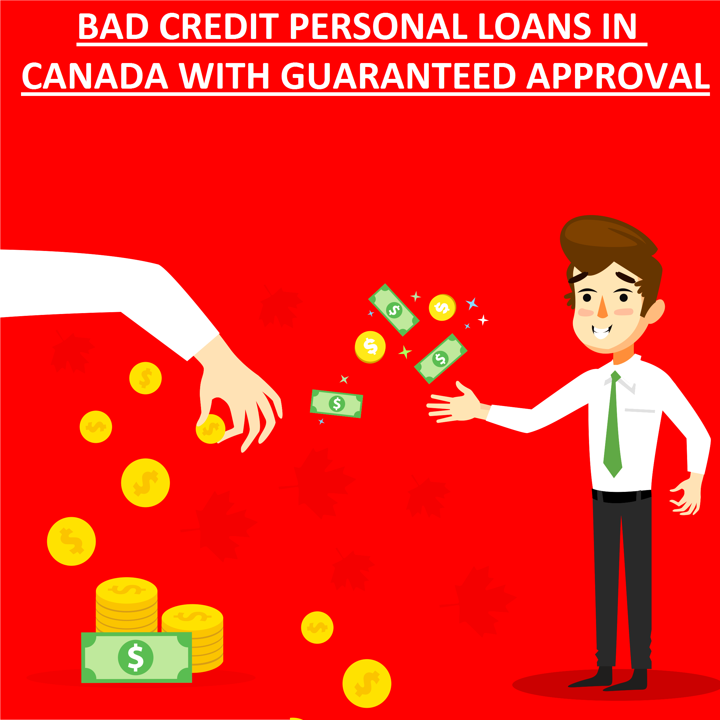 Bad Credit Personal Loans in Canada with Guaranteed Approval