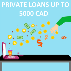 Private Loans Up To 5000 CAD