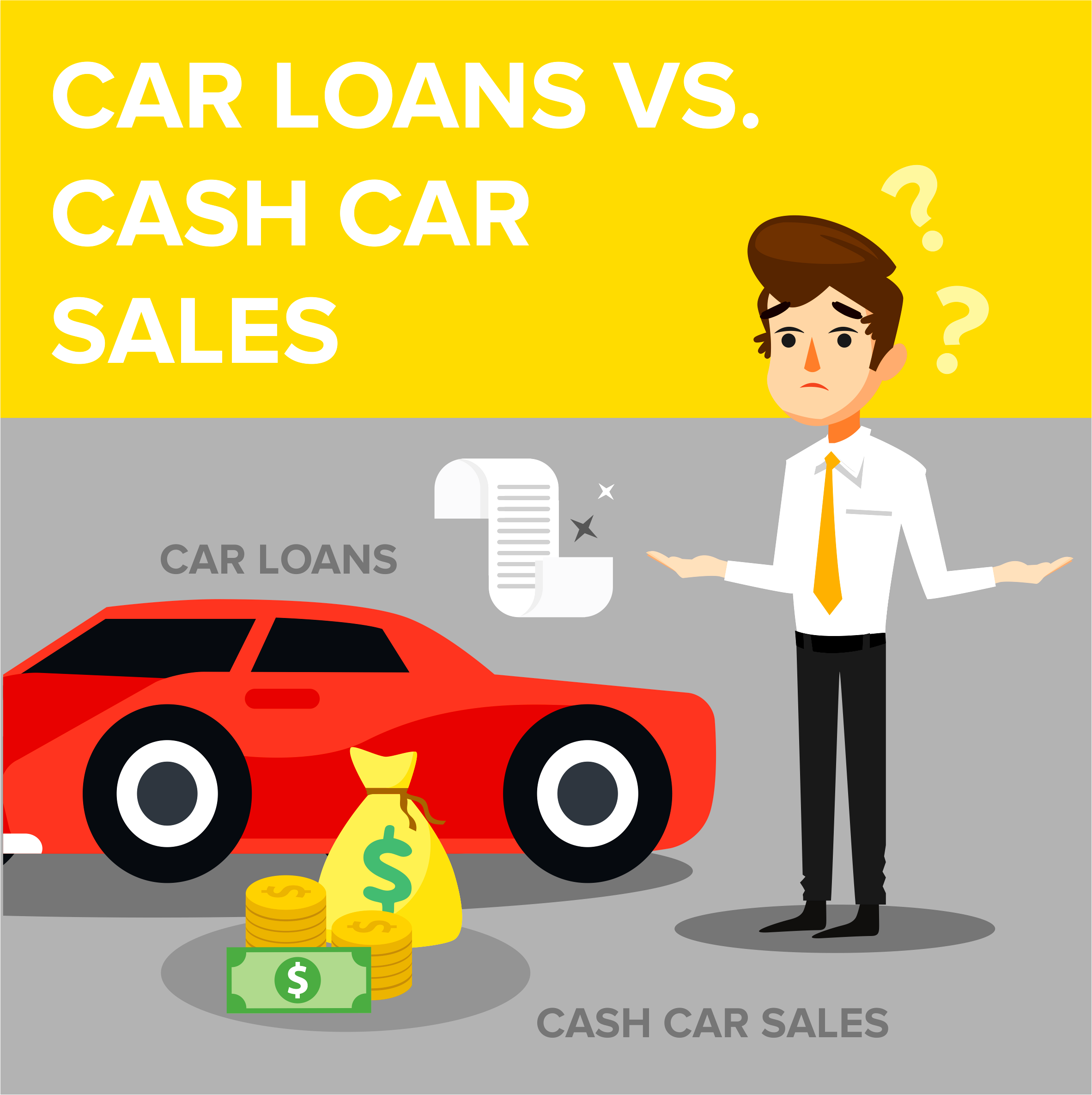 Car Loans Vs. Cash Car Sales