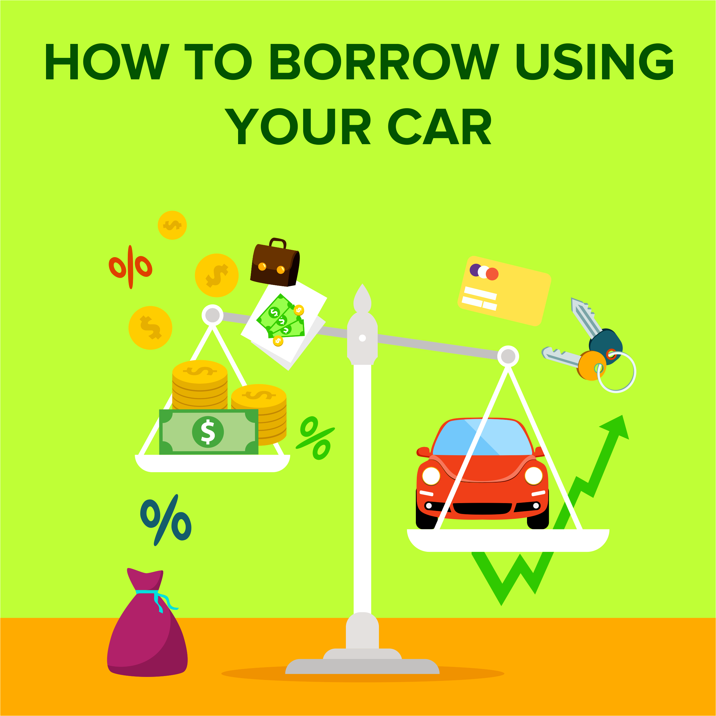 How to Borrow Using Your Car