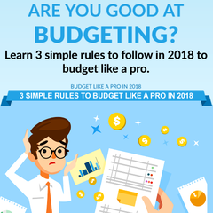 3 Simple Rules To Budget Like a Pro in 2018