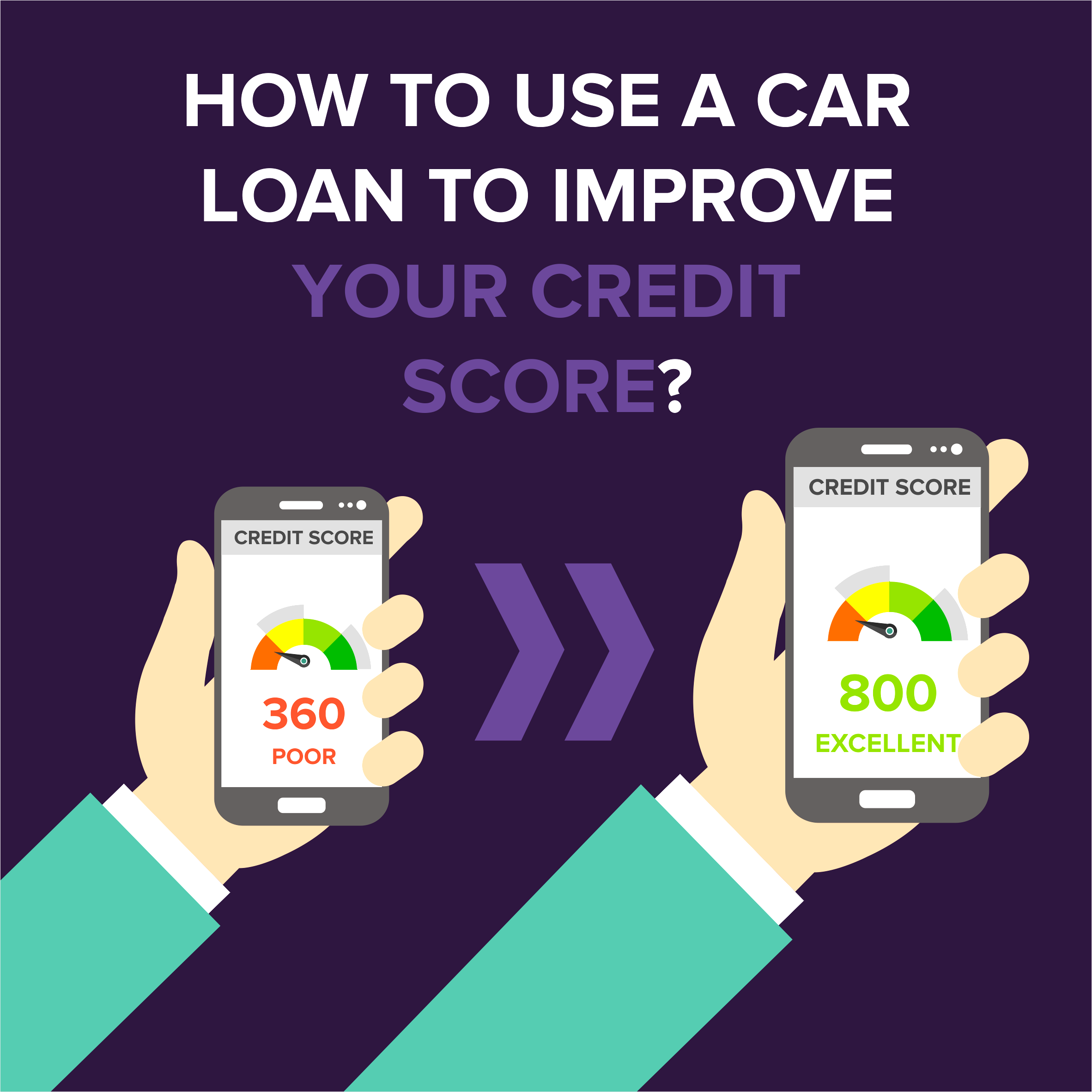How You Can Use a Car Loan to Improve Your Credit Score
