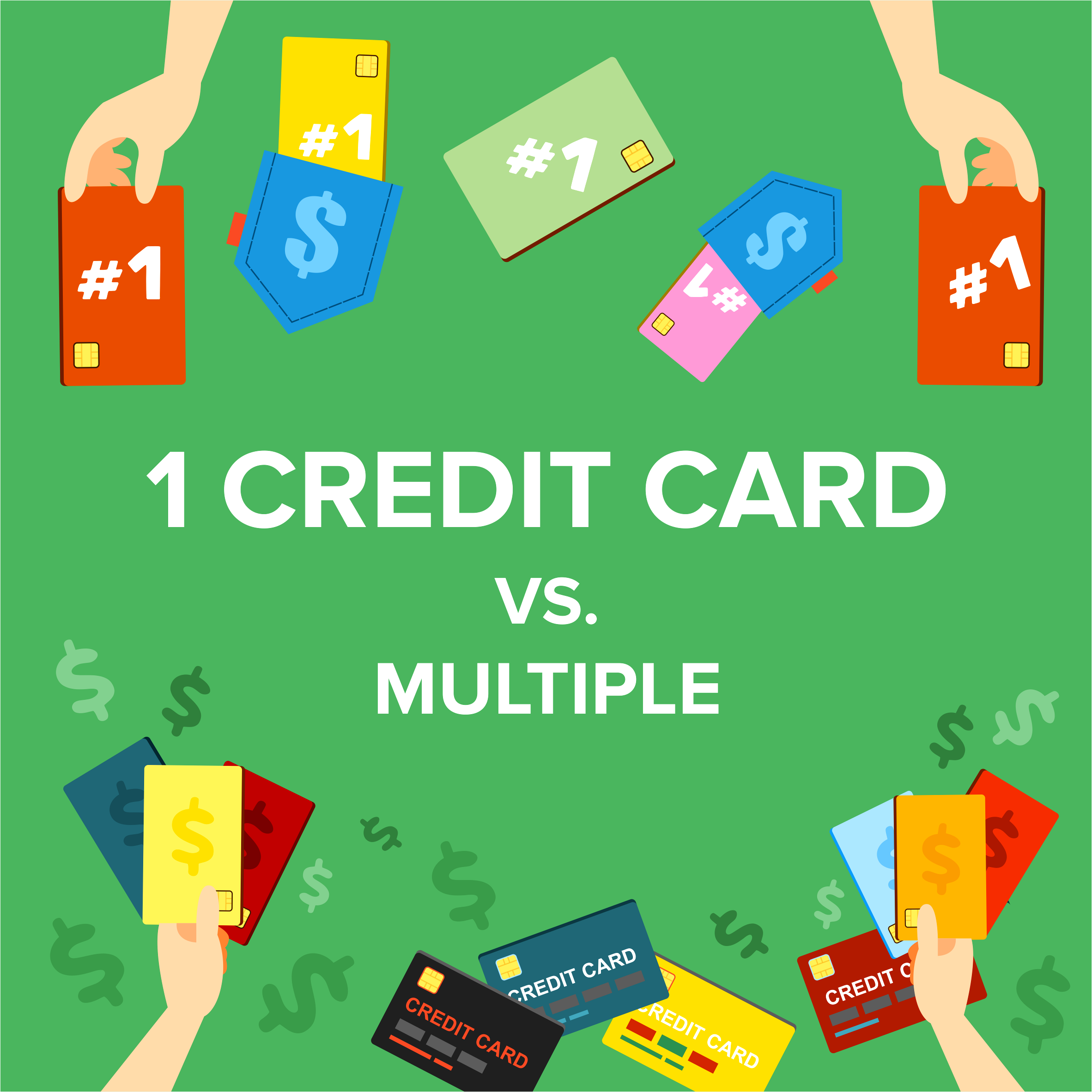 1 Credit Card Vs. Multiple
