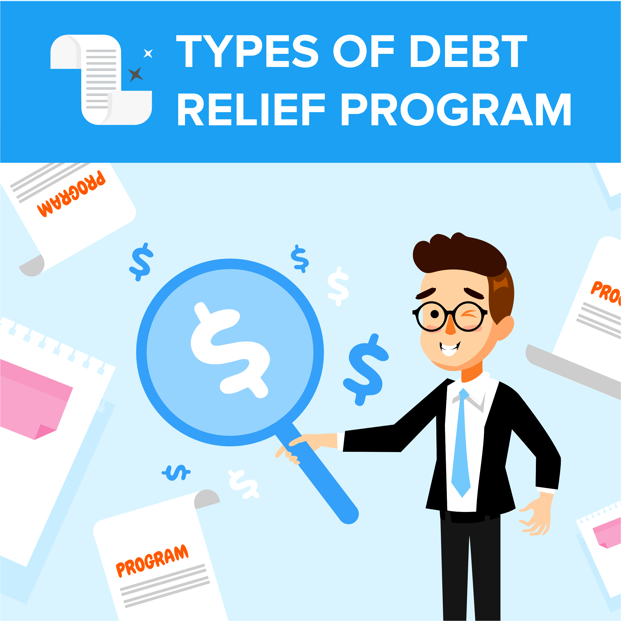 Types of Debt Relief Programs