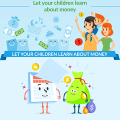 Let Your Children Learn About The Money