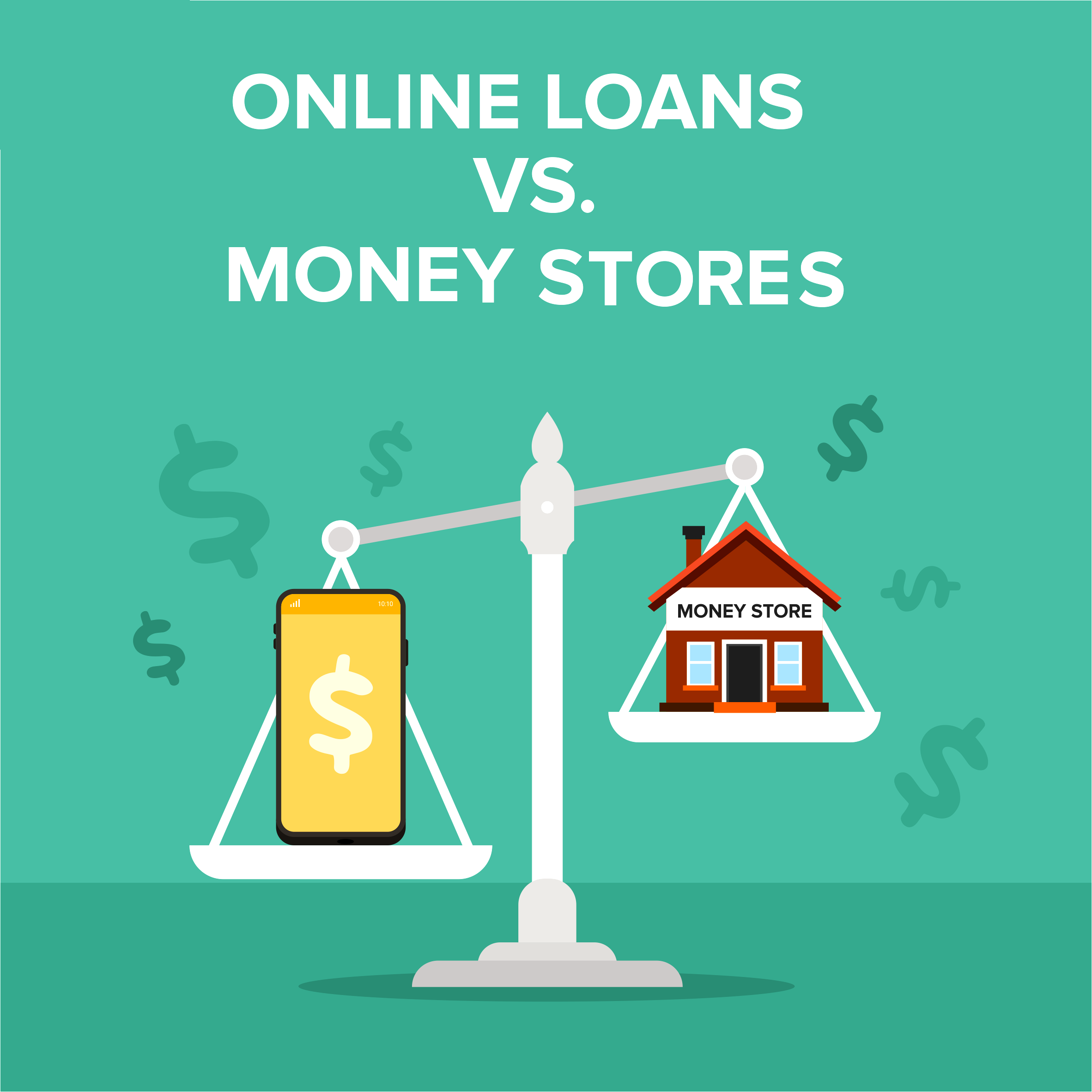 Online Loans Vs. Money-lending Stores
