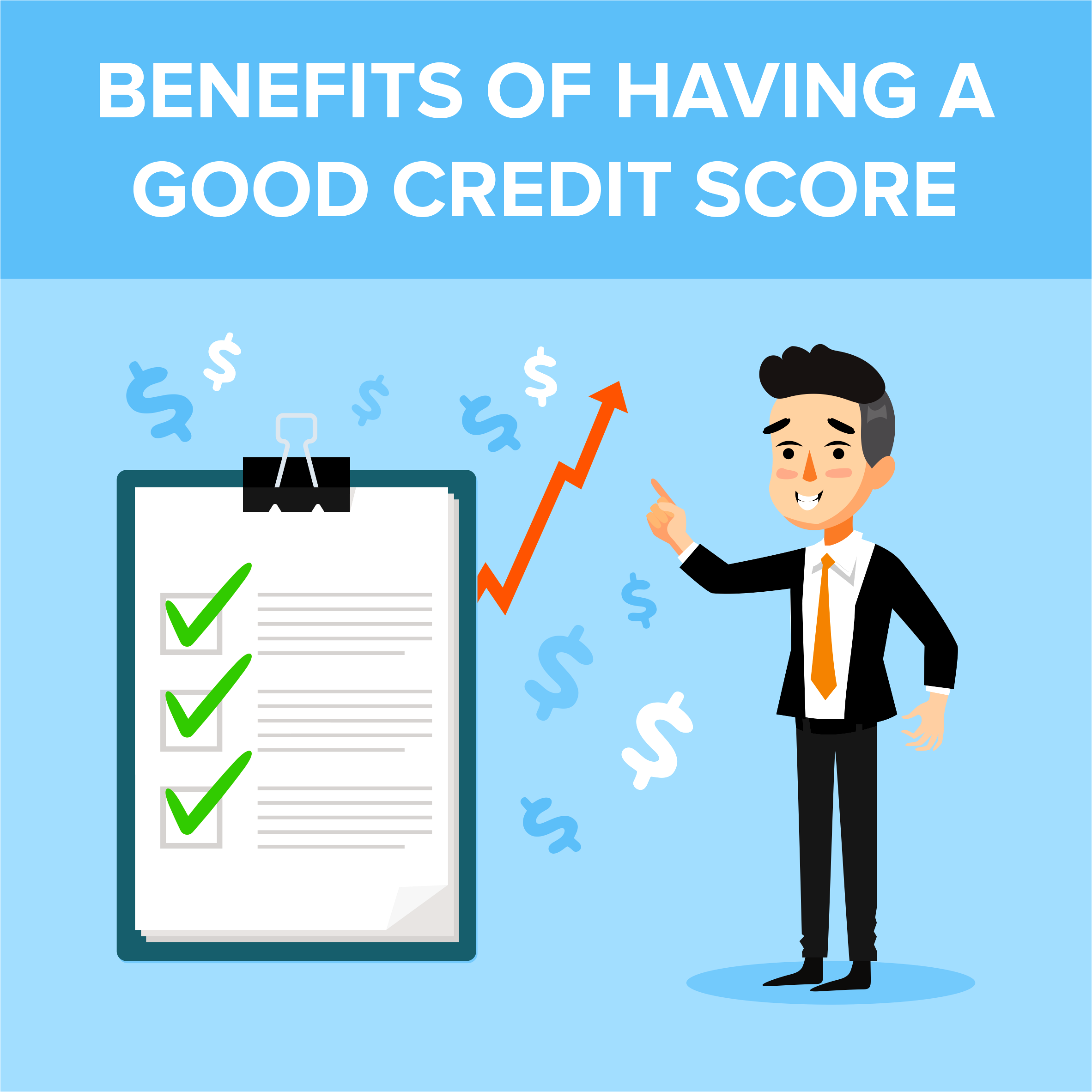 Benefits of Having a Good Credit Score