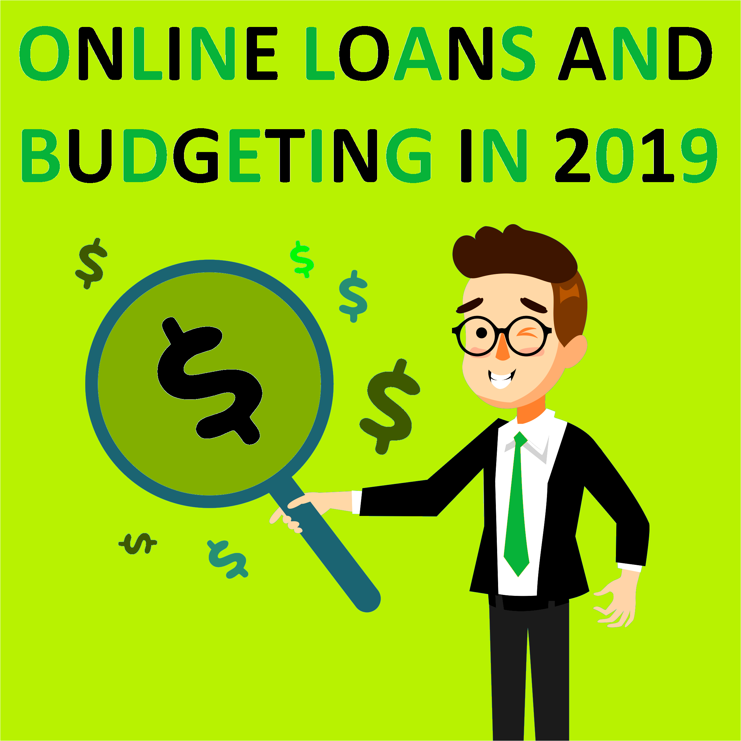 Online Loans And  Budgeting In 2019