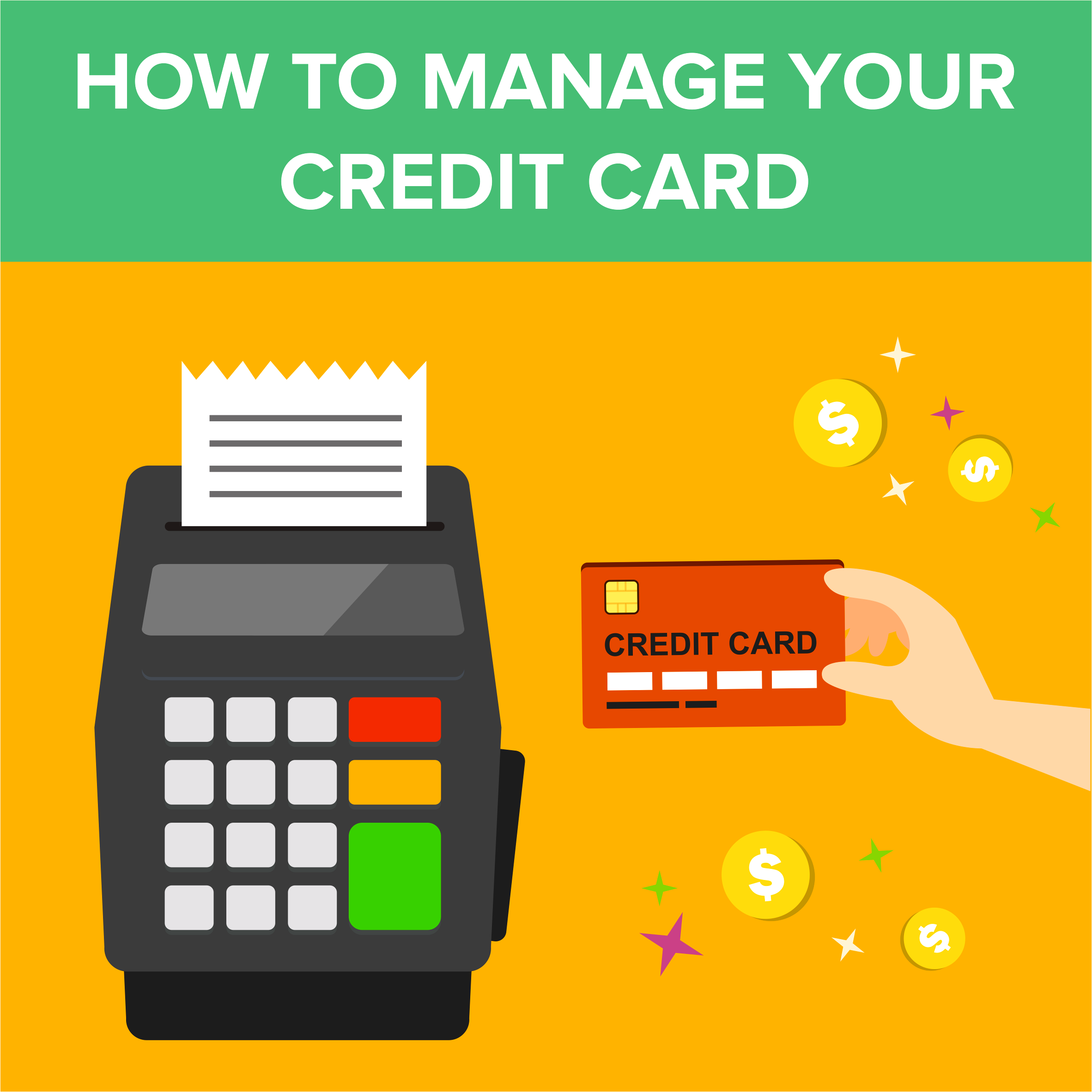 How to Manage Your Credit Card