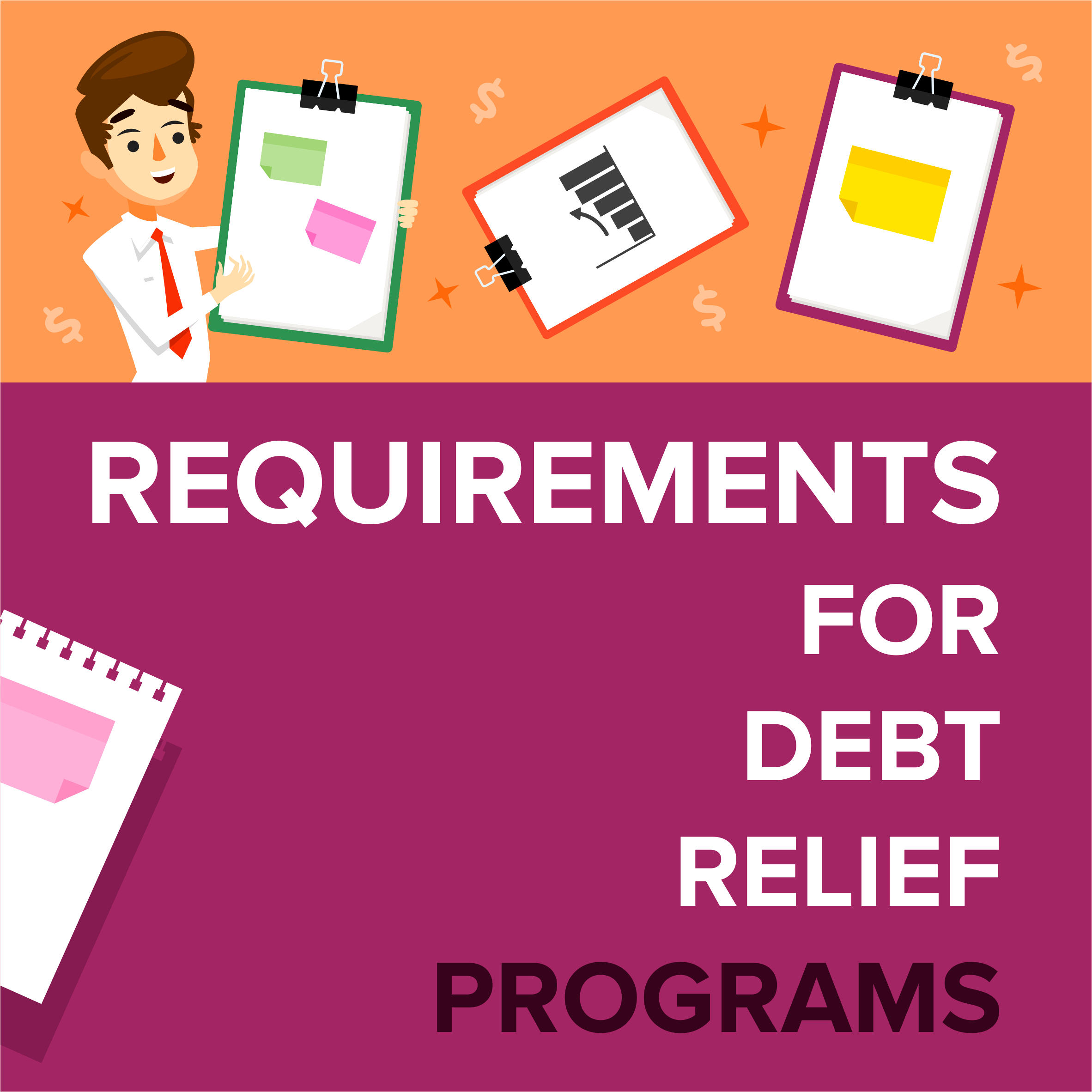 Requirements For Debt Relief Programs