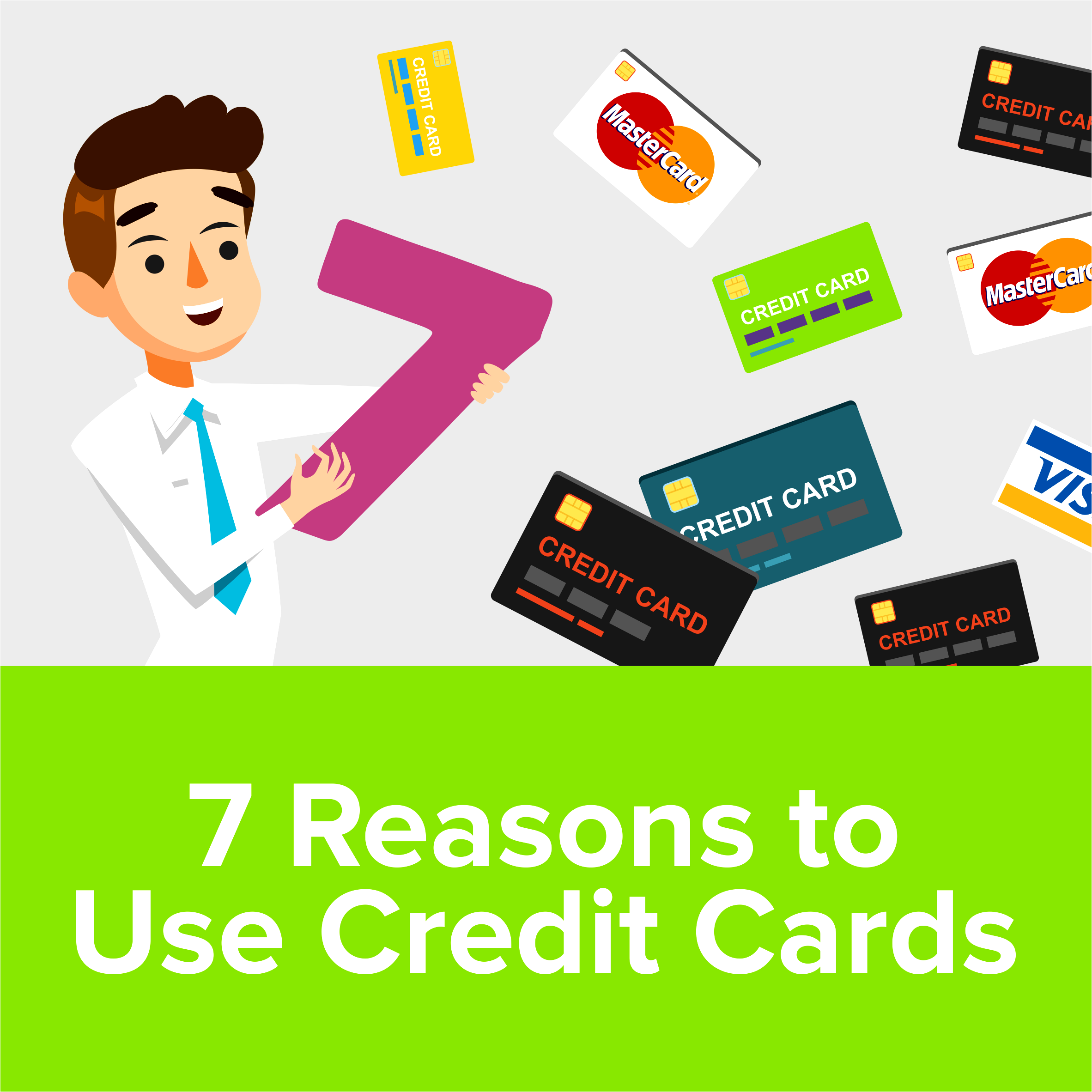7 Reasons to Use Credit Cards