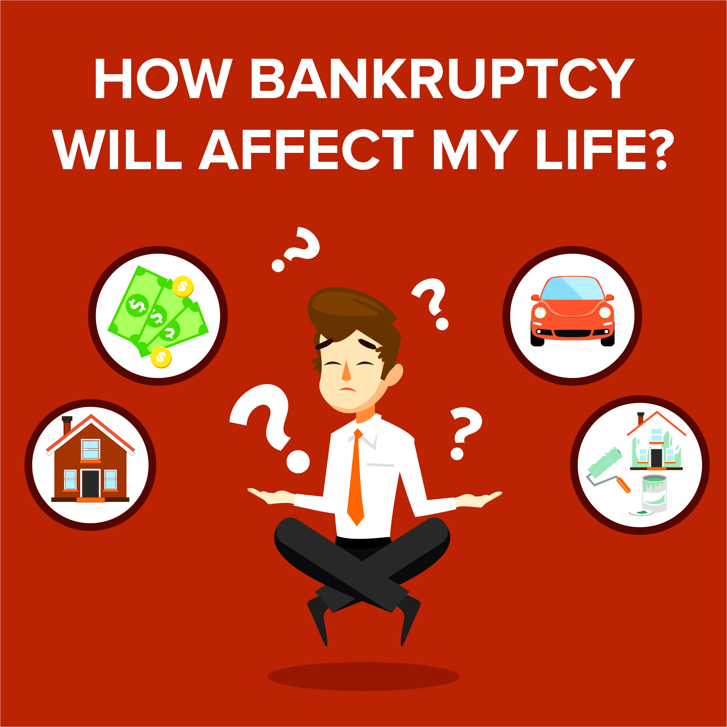 How Bankruptcy Will Affect My Life?